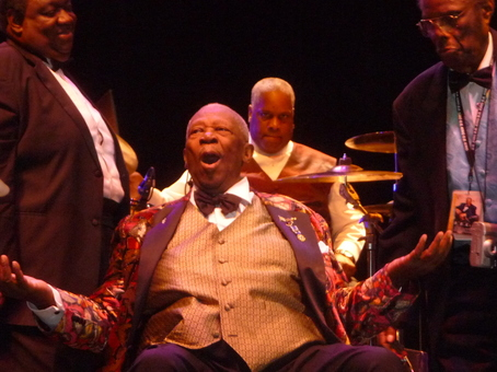 B.B. King Baton Rouge River Center