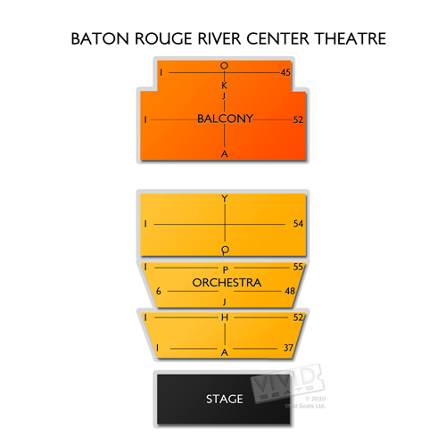 Raising cane s river center seating chart raising cane s river center