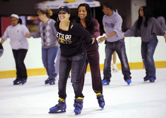 Skating on the river Baton Rouge River Center