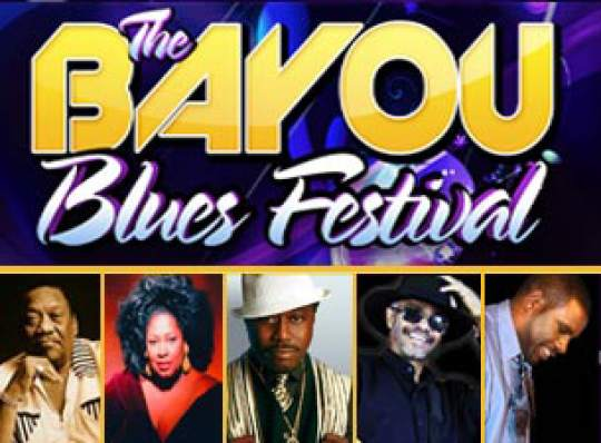 The Bayou Blues Festival Baton Rouge River Center
